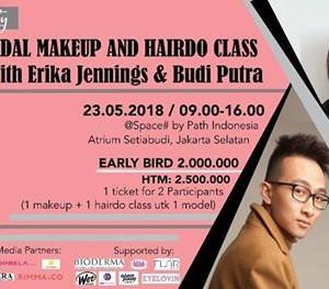 BRIDAL MAKEUP &amp HAIRDO CLASS with Erika Jennings MUA &amp Budi Putra Hair