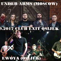 Be Under ArmsMoscow  EwoyaOsijekClub Exit