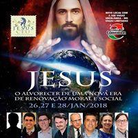 Jesus o alvorecer de uma nova era de renovao moral e social