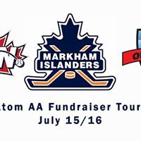 Markham Islanders Hockey Minor Atom AA Fundraiser Tournaments