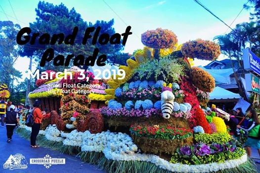 Panagbenga Float Parade 2019