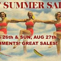 End of Summer Sale - Antiques at Gresham Lake Raleigh Aug 26&amp27
