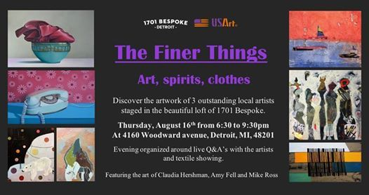 Meet the Artists Night The Finer Things