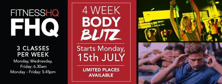 4 Week Body Blitz at Fitness HQ