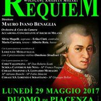 DUOMO DI PIACENZA - Requiem di Mozart