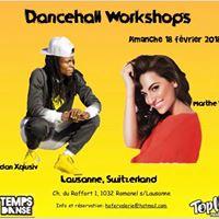 Dancehall workshop avec Marthe Vangeel &amp Zidan Xqlusiv