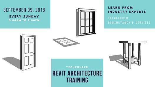 Revit Architecture Training at TECHFUHRER, Makati