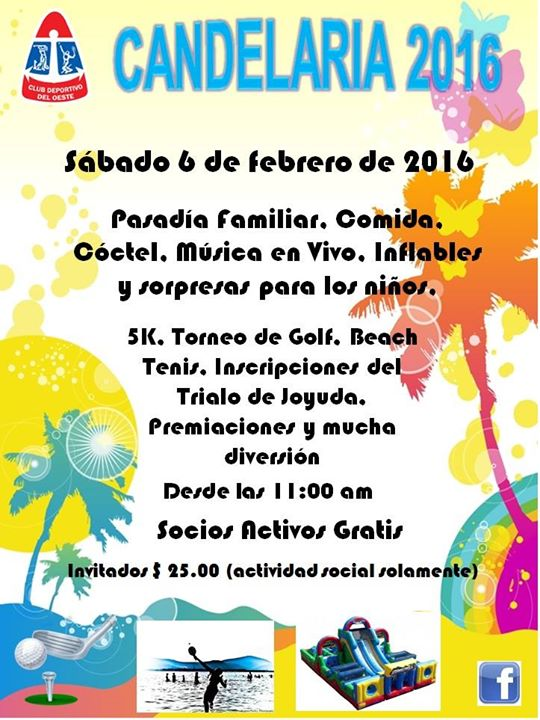 Fiesta de la candelaria 2016 at club deportivo del oeste for Rio grande arts and crafts festival 2016