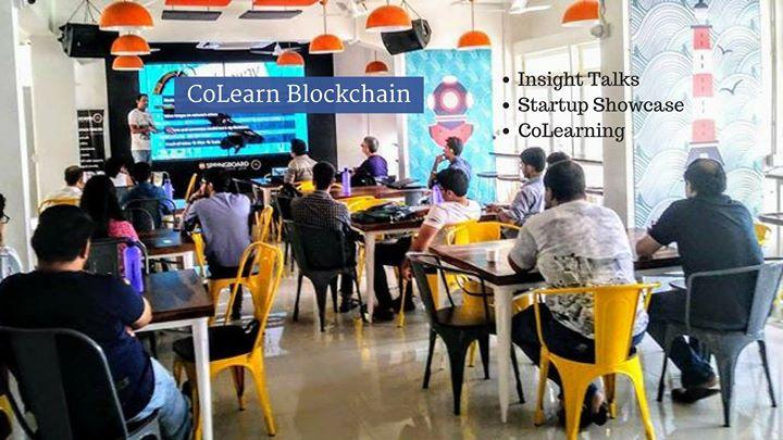 CoLearn Blockchain Bangalore Insight Talks  Startup Showcase