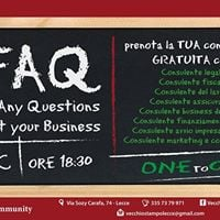 FAQ - For Any Question about your business