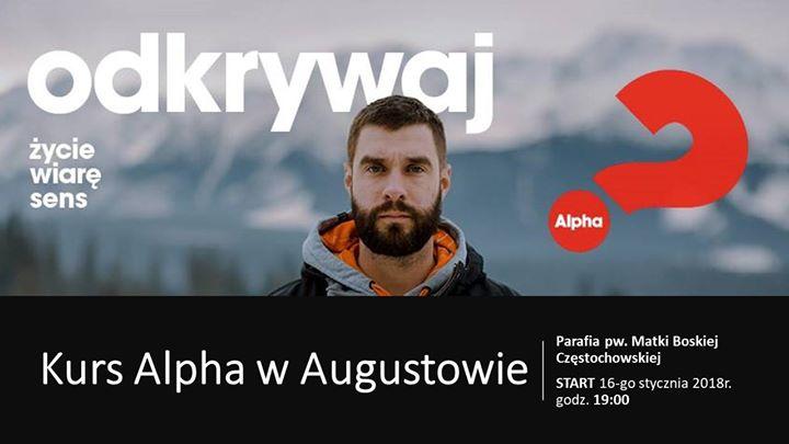Kurs Alpha w Augustowie