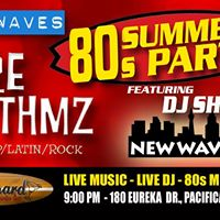 Soundwaves 80s Summer Party with Pure Rhythmz and DJ Shindog