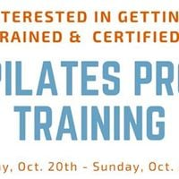 Pilates Pro Training &amp Certification Program