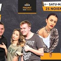 Satu Mare Stand-up comedy cu Ana George Ionu Rux &amp Coco