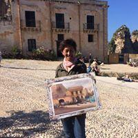 KEIKO TANABE Plein Air painting retreat in SICILY ITALY