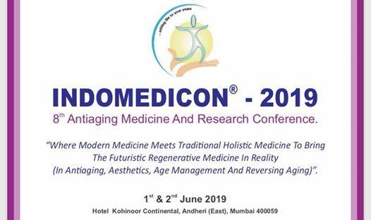 INDOMEDICON 2019:8th Antiaging Medicine & Research