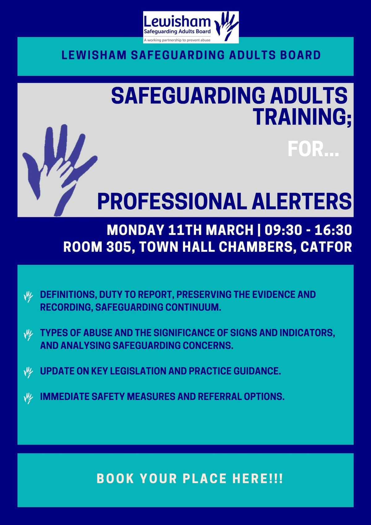 Safeguarding Adults Training for Professional Alerters