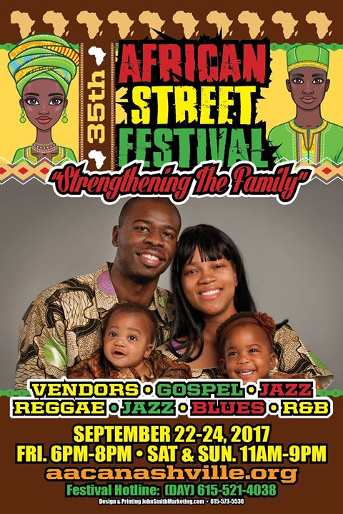 African Street Festival Nashville 2017 (35th Annual)
