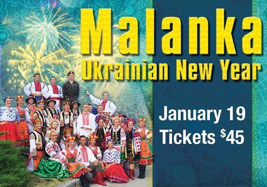 Malanka Ukrainian New Year