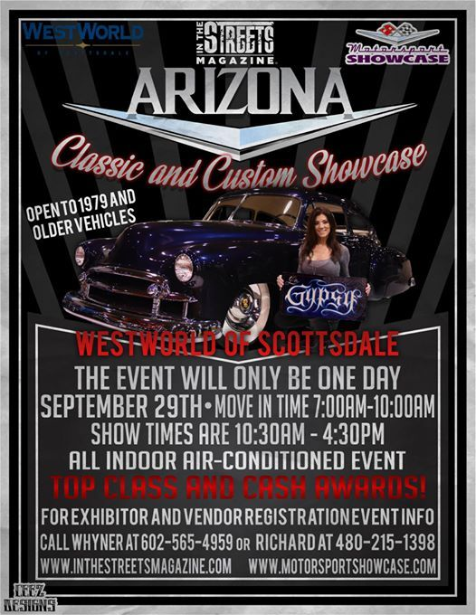 The Arizona Classic And Custom Showcase At WestWorld Of Scottsdale - Westworld scottsdale car show