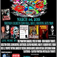 13th annual slinging ink tattoo expo freeman coliseum for San antonio christmas craft show freeman coliseum