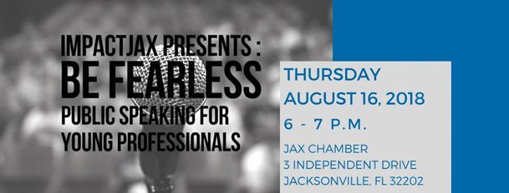 Be Fearless Public Speaking for Young Professionals