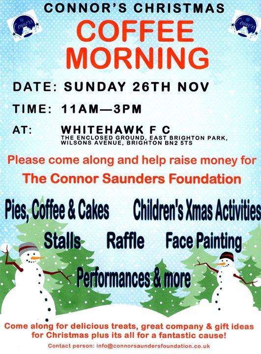Christmas Coffee Morning At Whitehawk Fc Brighton