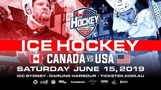 Canada vs USA Ice Hockey Classic & AIHL All Star - Sydney