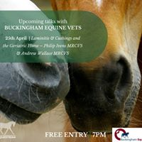 RB Equestrian Spring Talk with Buckingham Equine Vets