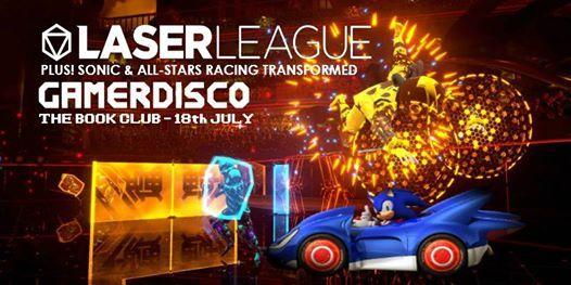 GamerDisco Laser League at The Book Club