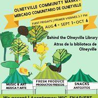 Olneyville Community Market - Mercado Comunitario de Olneyville