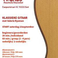 Workshop Klassieke gitaar