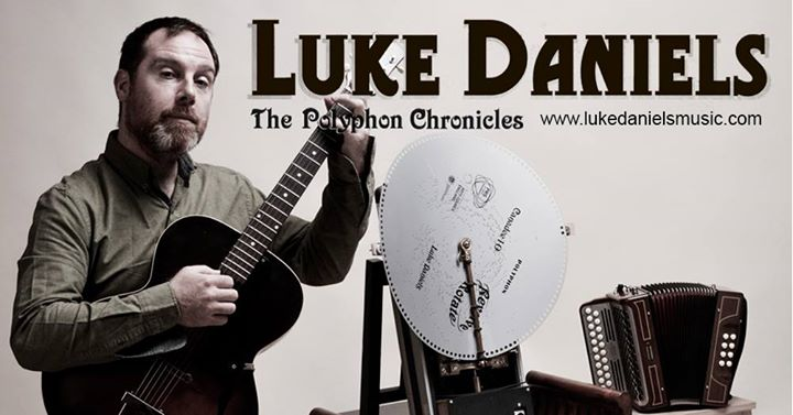 Luke Daniels solo show with polyphon machine