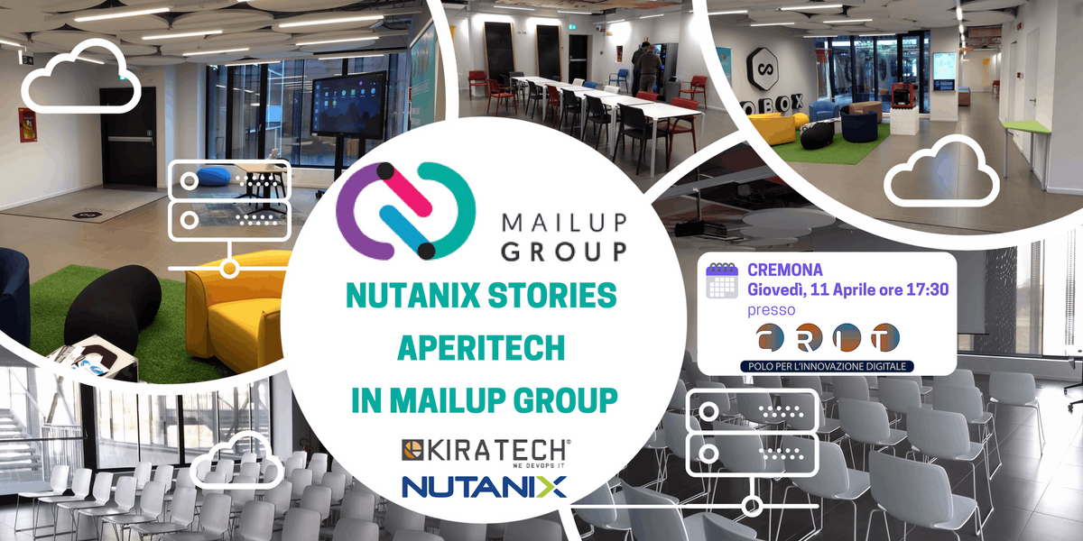 Nutanix Stories AperiTech in MailUp Group