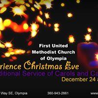 Christmas Eve Worship December 24 8 pm