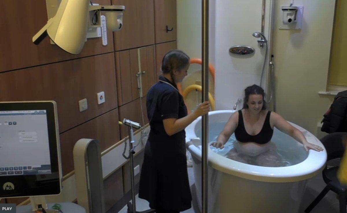 Water birth workshop 2 hours session