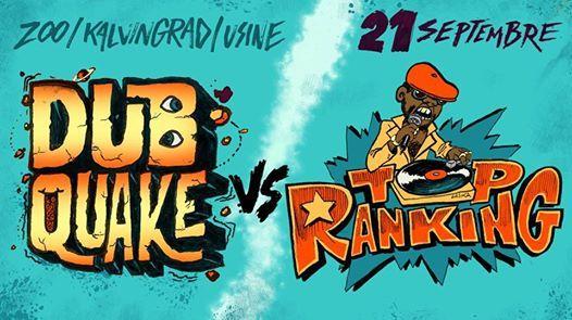Dubquake x Top Ranking  double tage