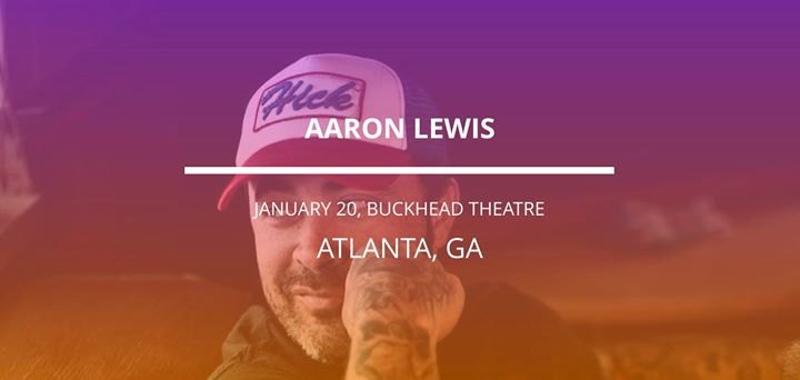 Aaron Lewis in Atlanta