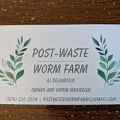 Post-Waste Worm Farm