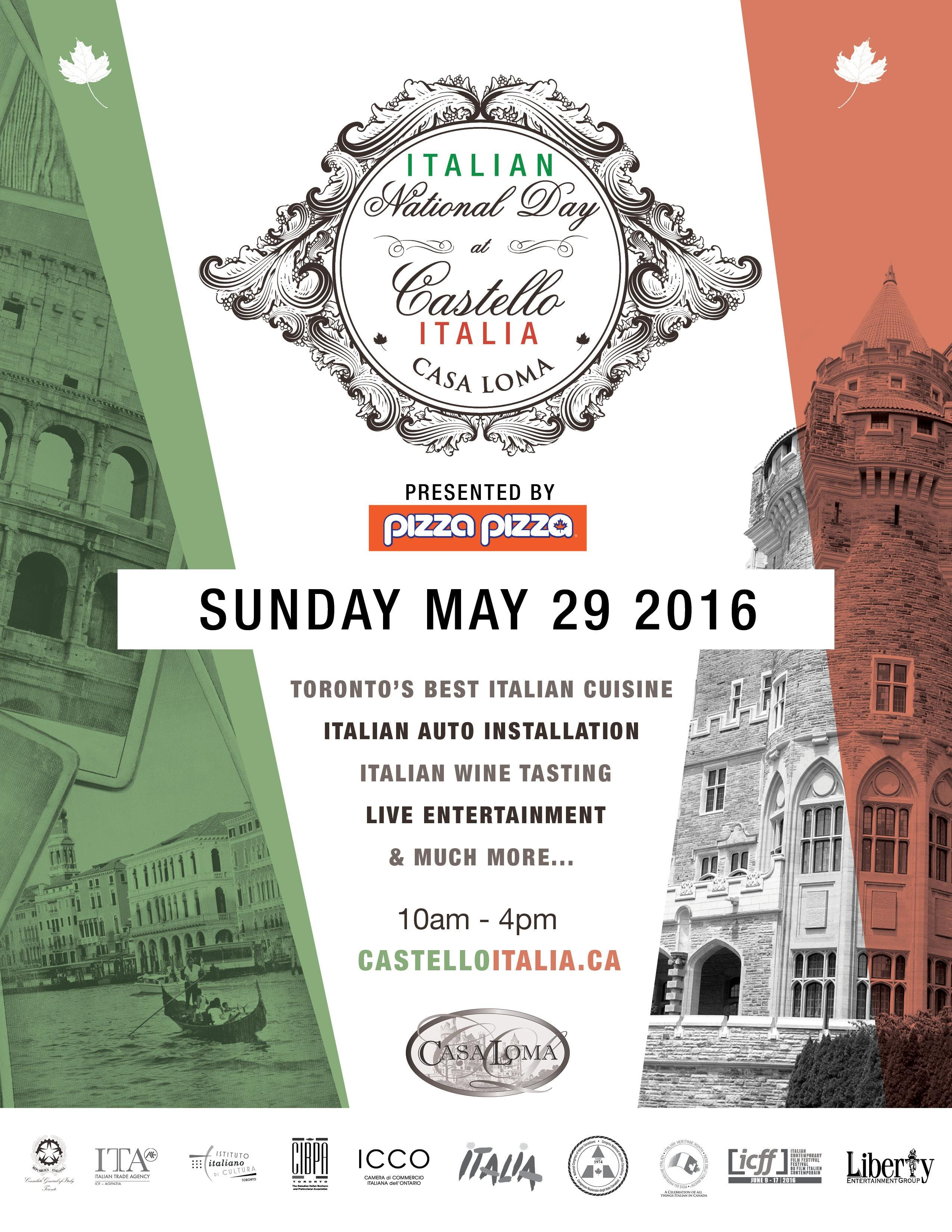 Italian National Day Castello Italia at Casa Loma 2018
