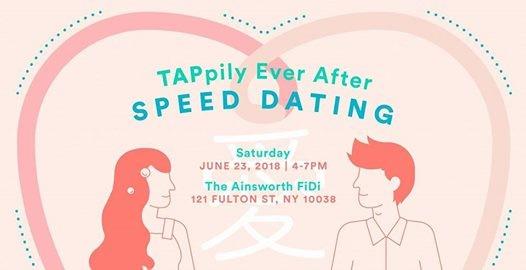speed dating manhattan