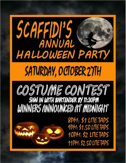 scaffidis annual halloween party