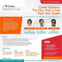 Career Sponsors The New Way to Fast Track your Career
