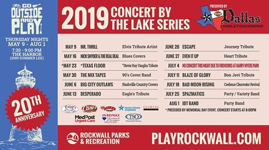 Concert by the Lake Series The Mixtapes