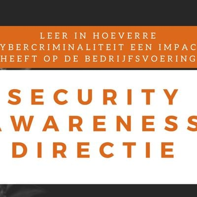 Security Awareness Directie Klassikale Training (Nederlands)