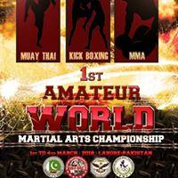 1st AMATEUR World Martial Arts Championship 2018