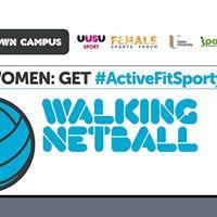 Jordanstown - Women Get ActiveFitSporty - Walking Netball