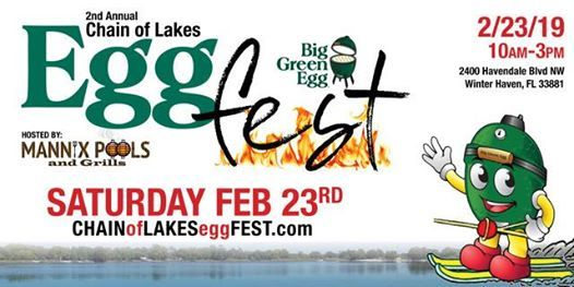 2nd Annual Chain Of Lakes Eggfest At 2400 Havendale Blvd Nw Winter