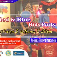 Red &amp Blue Kids Party