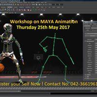 Workshop on MAYA Animation